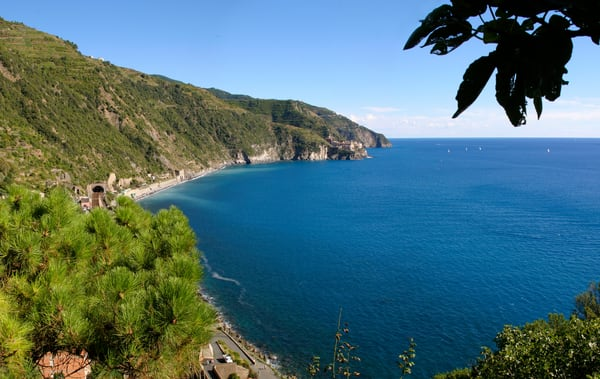 Cinque Terre from Vernazza - Italy