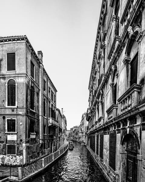 Fondamenta del Rio Marin - Venice - Italy B&W