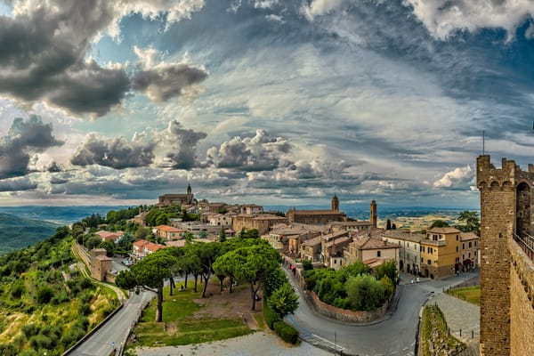 From the Castle - Montalcino - Italy