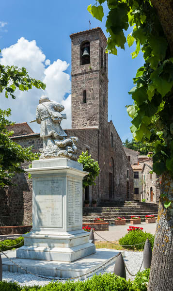 Guarding the Fallen - Radicofani - Italy