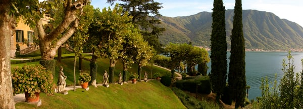 Villa Balbianello Statues - Lenno - Italy