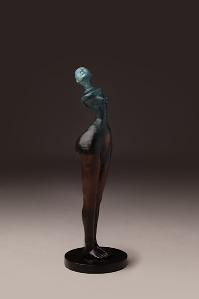"""Woman Wonder"" Limited edition Prophetic art bronze sculptures by Avril Ward 