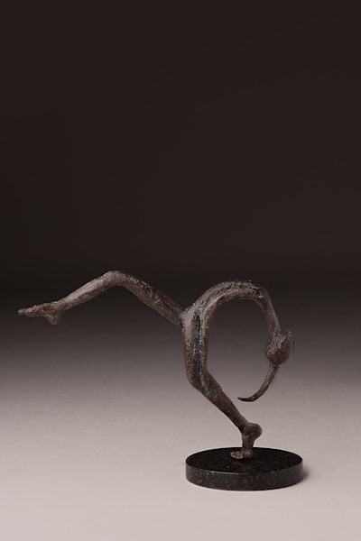 """Joy Unspeakable"" Limited edition Prophetic art bronze sculpture by Avril Ward 