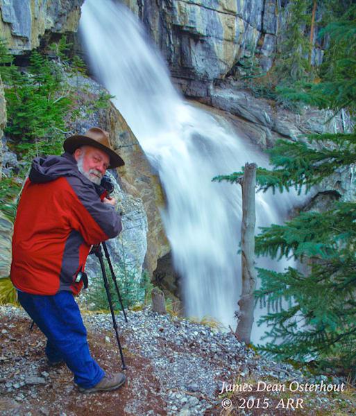 Daryl L hunter, water falls