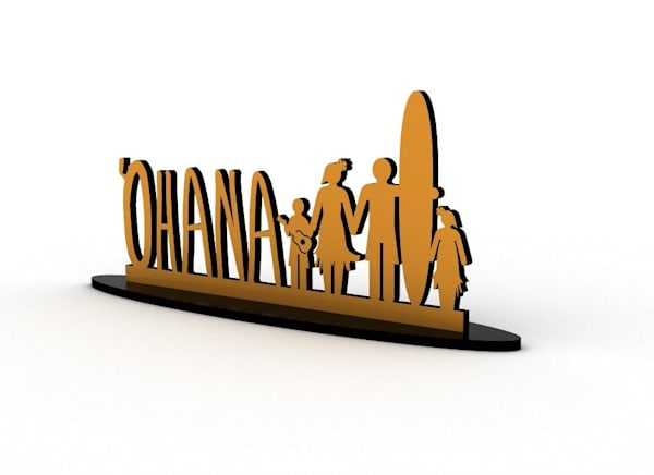 'Ohana Tabletop Signs | Pictures Plus Prints