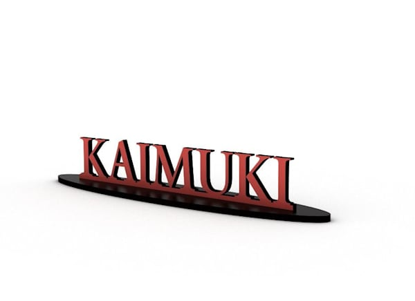 Kaimuki Tabletop Signs | Pictures Plus Prints