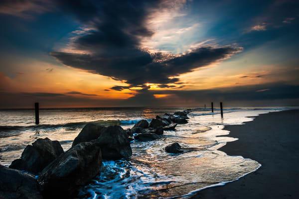 Good Morning Dark Clouds, sunrise