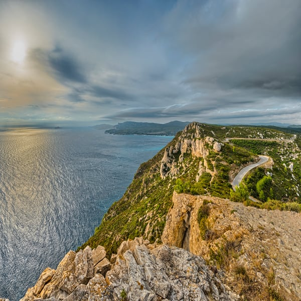 The Day Slips Away - Route des Cretes - Cassis - France