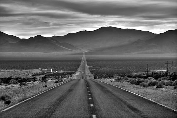 an image of a rural highway in death valley, california