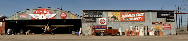 the small desert town of kramer junction in california, an interesting place