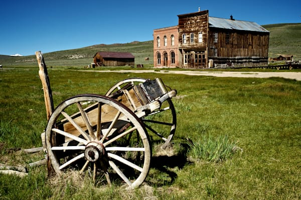 Awesome Print of the Old West Town of Bodie.
