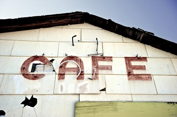 Abandonded Cafe on Hwy 395, Ca.