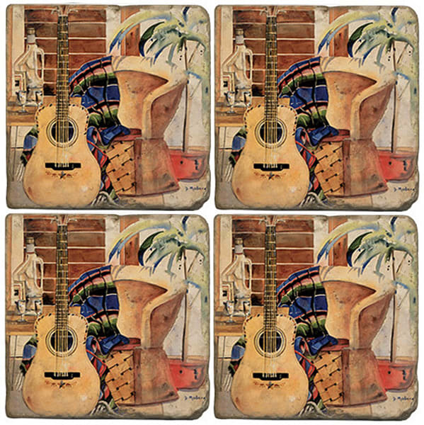 Art's Siesta | Guitar | Coasters