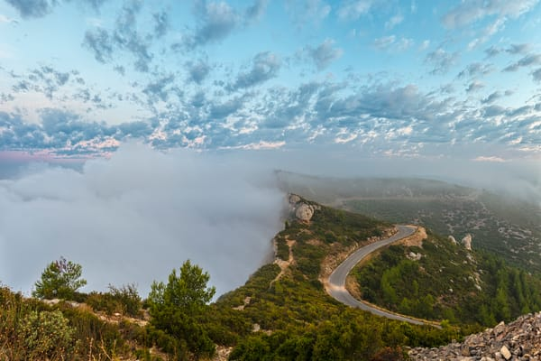 Hidden in the Mist - Cassis - France