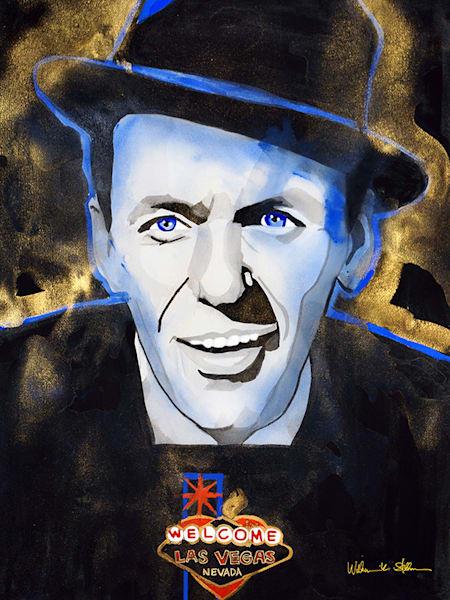 Frank Sinatra Art | William K. Stidham - heART Art
