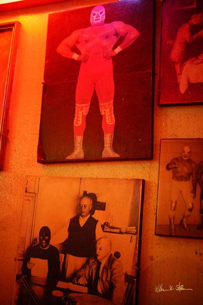Luchador Hall Of Fame Art | William K. Stidham - heART Art