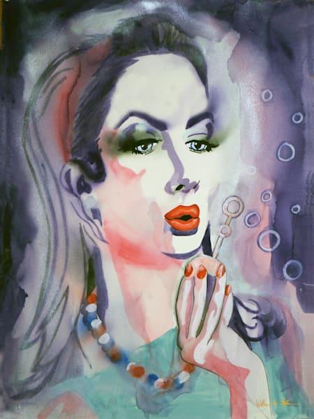 If Wishes Were Like Bubbles Art | William K. Stidham - heART Art