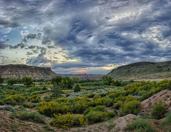 Autumn Sunset - Rockville - Utah