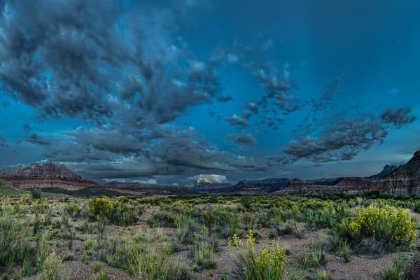 Desert Lightning - Rockville - Utah