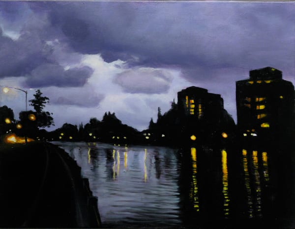 Thunder evening, Rideau Canal, Ottawa
