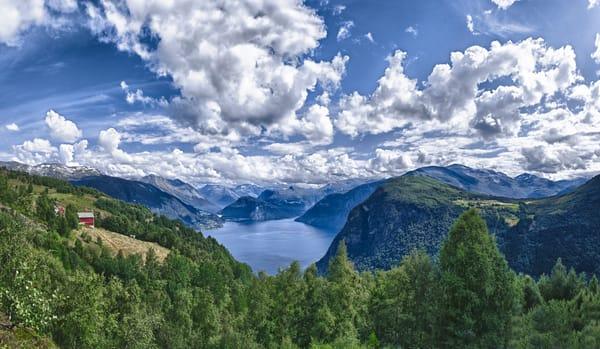 Fjord - Eidsdal - Norway