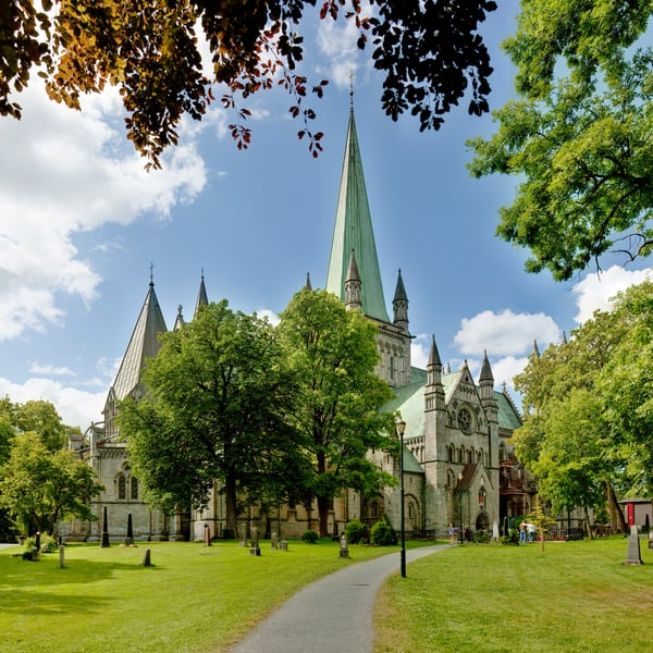 Nidaros Cathedral and Grounds - Trondheim - Norway