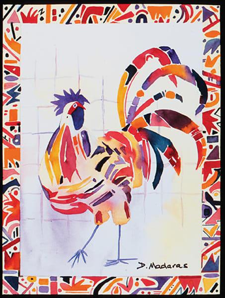 Junkanoo Rooster | Southwest Art Gallery Tucson | Madaras