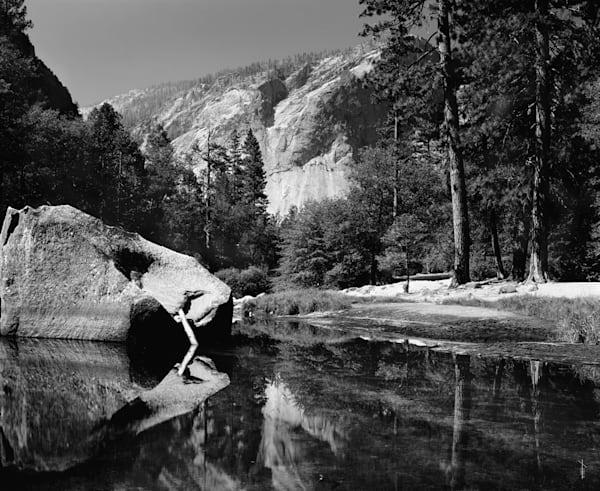 Mirror Lake - B&W