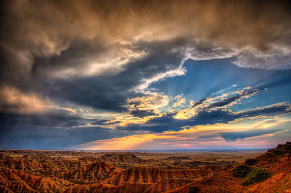 Badlands after Storm Fine Art Photograph | JustBob Images