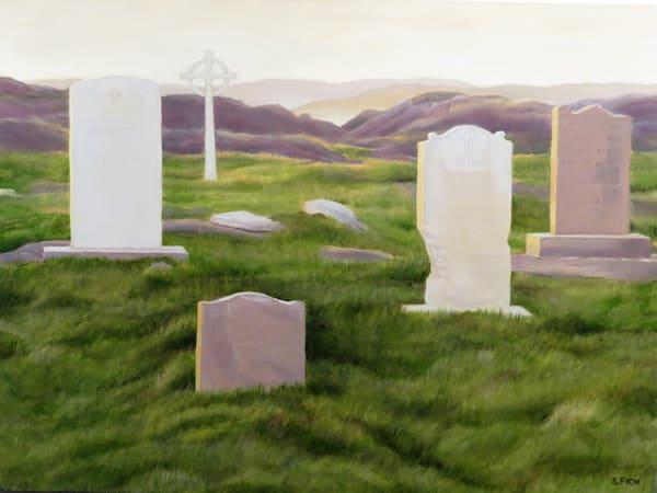 Graveyard, Fogo Island, Newfoundland