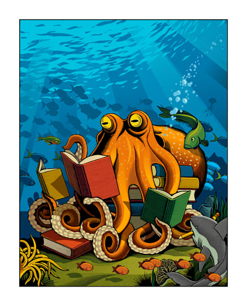 Octopus Art | Photographic Works and ArtsEye Gallery