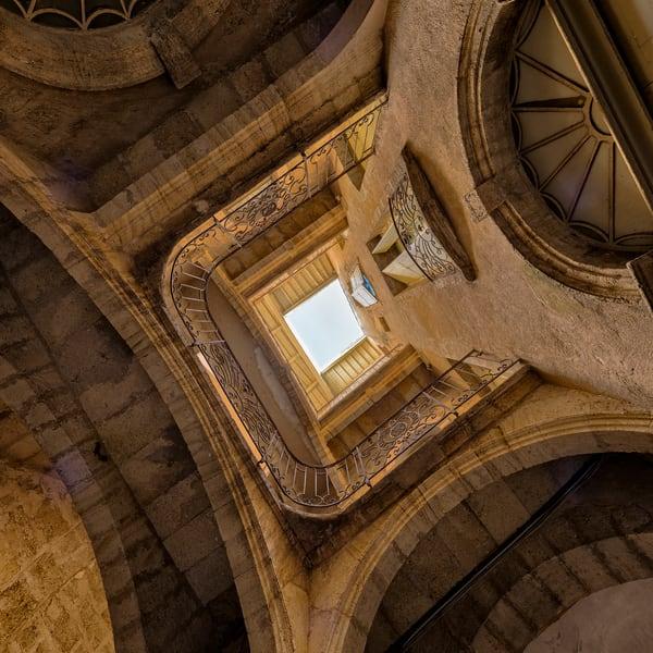 Courtyard Staircase - Pezenas - France