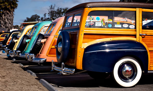 Classic Woody Print from Doheny Beach in Dana Point