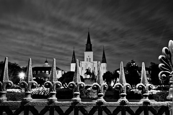 Black And White Cathedral Photography Art | Zakem Art LLC