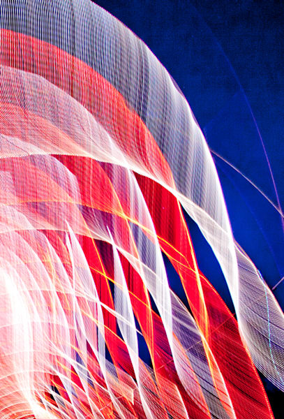 Photo Abstract Red White and Blue