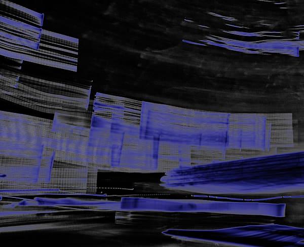 Photo Abstract Blue Photography Art | Zakem Art LLC