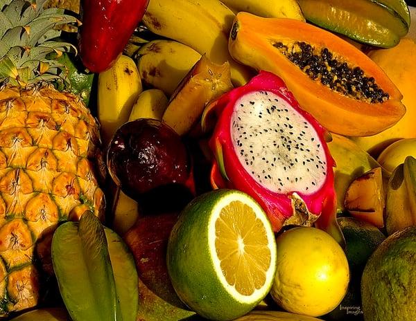 Fresh and Tropical Kauai Fruit | Kauai Fine Art Photography, Hawaii