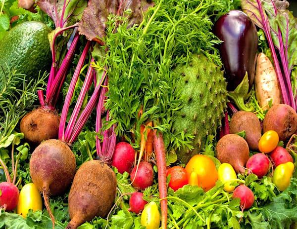Locally Grown Vegetables | Kauai Fine Art Photography, Hawaii
