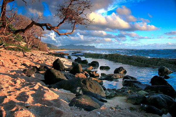 Rugged Nukolii Beach | Kauai Fine Art Photography, Hawaii