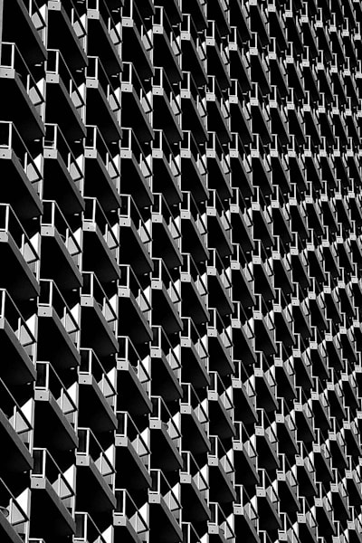 High Rise Balconies | Hawaii Fine Art Photography