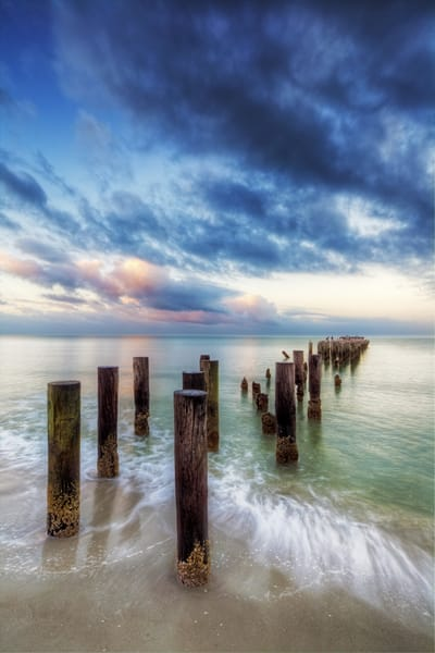 7566 V Pier Posts Art | Cunningham Gallery