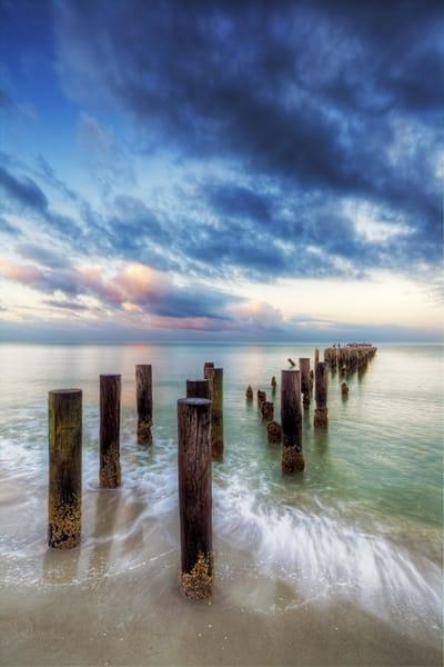 7566 V Pier Posts Art | Cunningham Gallery