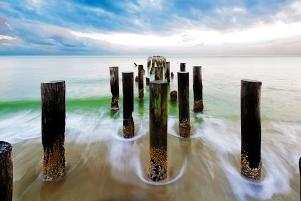 7553 Pier Posts Art | Cunningham Gallery