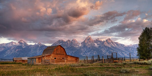 8940 Mouton Barn Grand Tetons, Wy Art | Cunningham Gallery