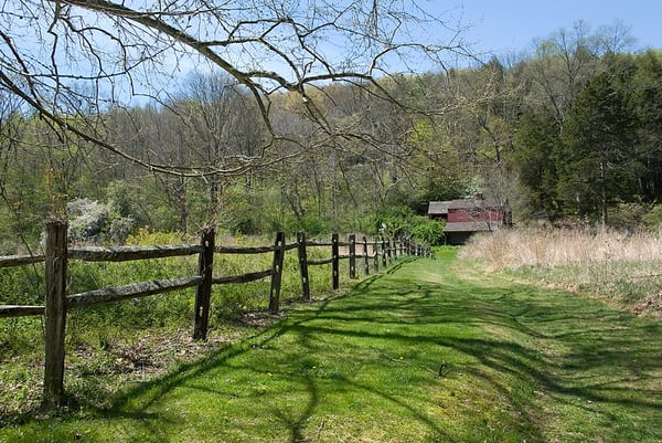 Path To The Audubon Barn