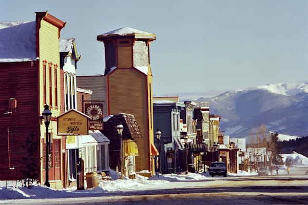 Breckenridge,Colorado Main Street around 1980