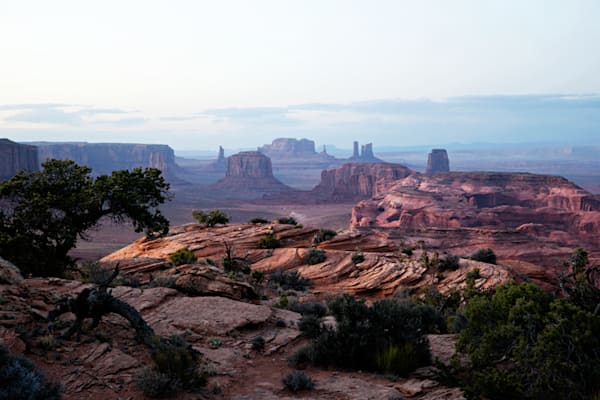 0787 Monument Valley From Hunt's Mesa Art | Cunningham Gallery