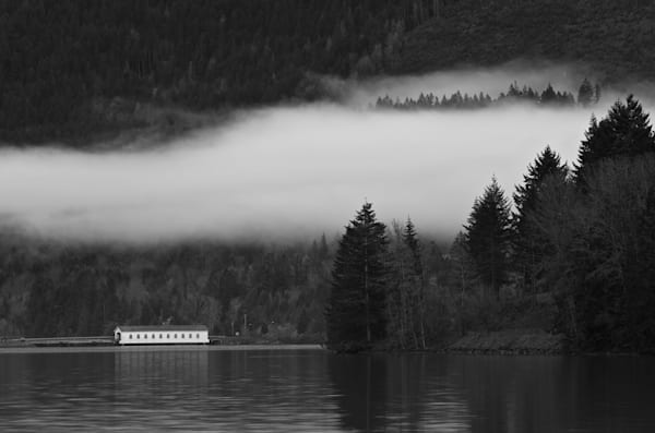 Low Cloud at Dexter Lake
