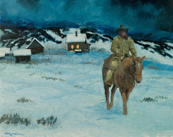 Cold Ride Art | Fine Art New Mexico