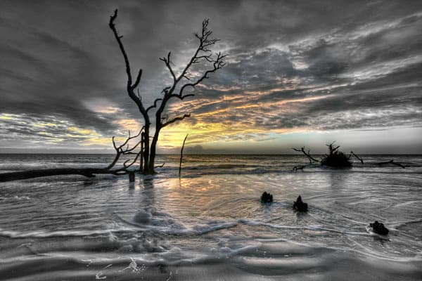 Hunting Island Sunrise No. III